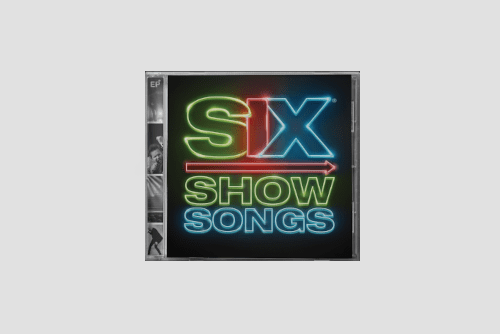 SIX show songs CD front cover