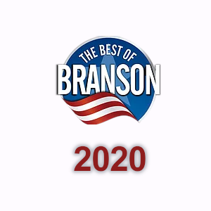 Best of Branson logo with the year 2020