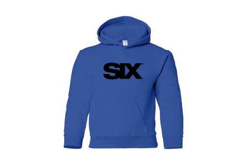 SIX youth hoodie in royal blue